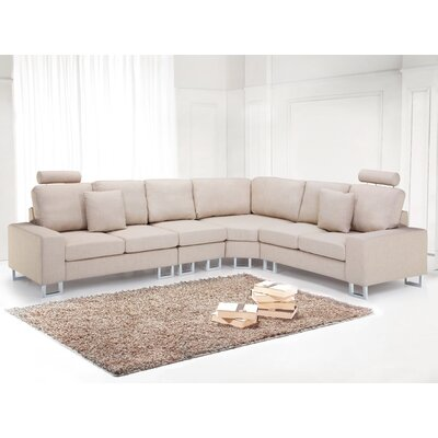 Stockholm Sectional Upholstery: Beige