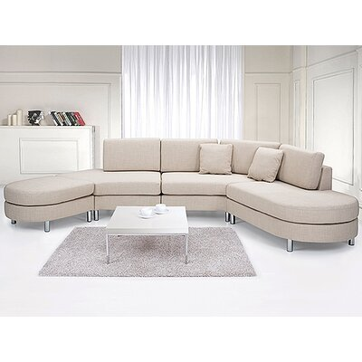 Fordoun Corner Sofa Color: Beige