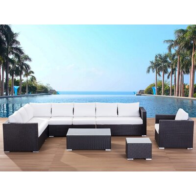 Beliani XXL Sectional 7 Piece Lounge Seating Group with Cushion at Sears.com