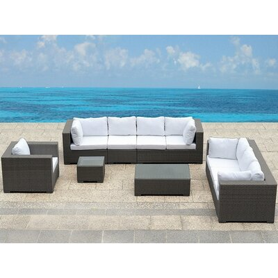 Beliani Maestro 7 Piece Deep Seating Group with Cushion at Sears.com