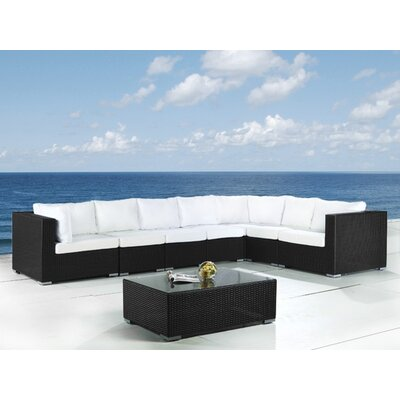 Beliani Grande 8 Piece Lounge Seating Group with Cushion at Sears.com