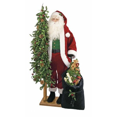Gift Bearing Santa Claus Nick Figurine