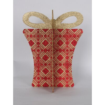 "13.5"" 3D Gift Box Set Color: Red/Gold"