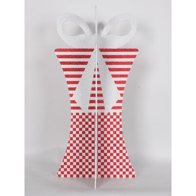 "31"" 3D Gift Box Set Color: Red/White"