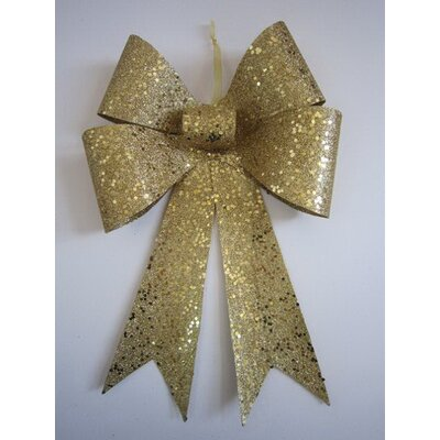 Glitter Bow Color: Gold, Size: 24