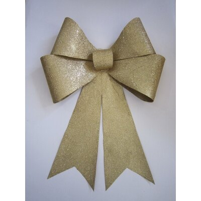 Glitter Bow Color: Gold, Size: 30
