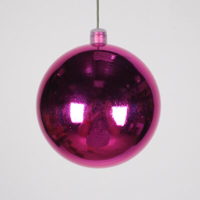 Ball Ornament Color: Pink, Size: 80 mm