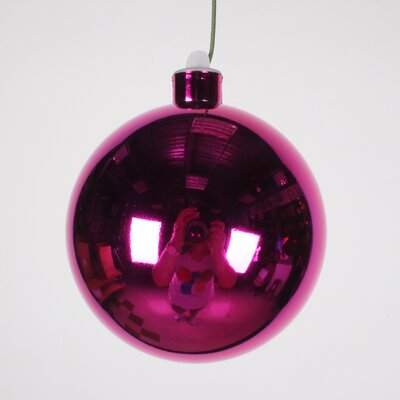 Ball Ornament Size: 100 mm, Color: Pink