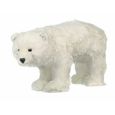 Polar Bear Trek Ottoman