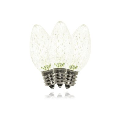 Warm White LED Twinkle Light Bulb C7-RETRO-WW-TW