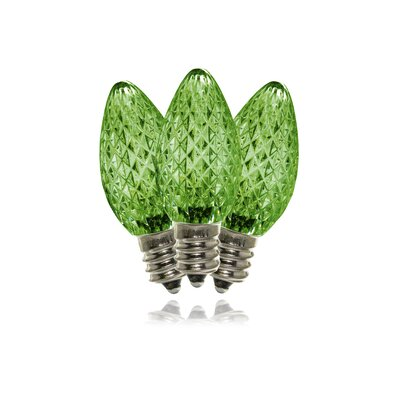 1W LED Light Bulb (Pack of 25) (Set of 25) Bulb Color: Green