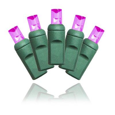 5MM Conical Strobe LED Light Color: Pink