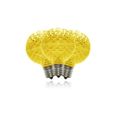 1.7W LED Light Bulb (Pack of 10) (Set of 10) Bulb Color: Gold