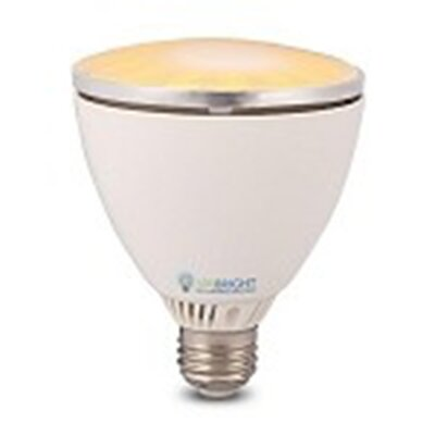 10W Orange 110/120-Volt LED Light Bulb Bulb Color Temperature: Daylight