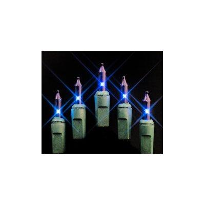 50 Mini String Light Bulb Color: Blue