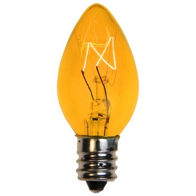 5W Light Bulb Bulb Color: Yellow