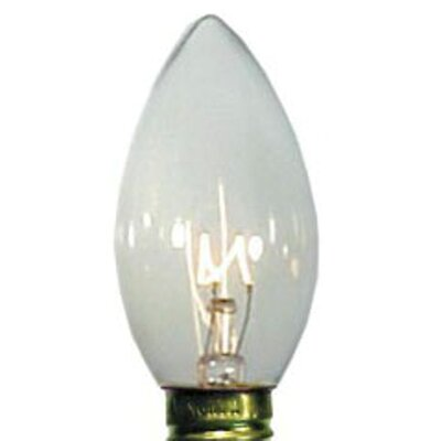 7W Light Bulb (Pack of 25) Bulb Color: Clear