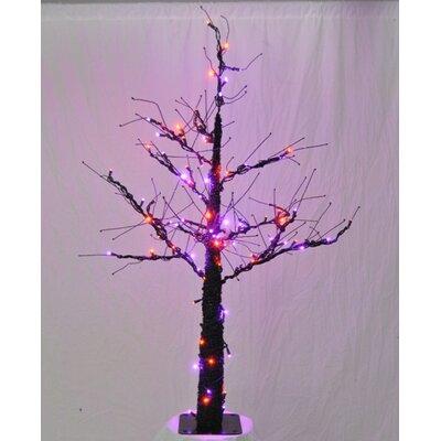 Tree Light Halloween Decoration Size: 54