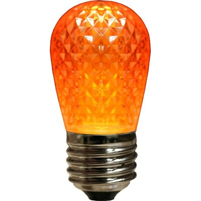3.2W LED Light Bulb (Set of 4) Bulb Color: Orange