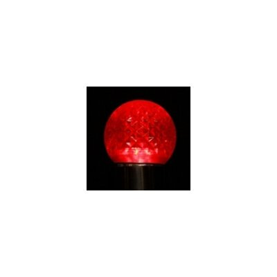 LED Light Bulb (Pack of 25) (Set of 25) Bulb Color: Red