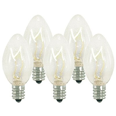 5W Light Bulb Bulb Color: Clear