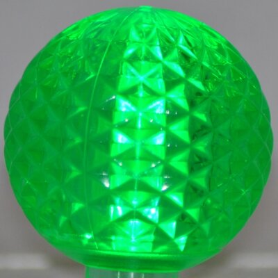1.7W LED Light Bulb (Pack of 10) Bulb Color: Green