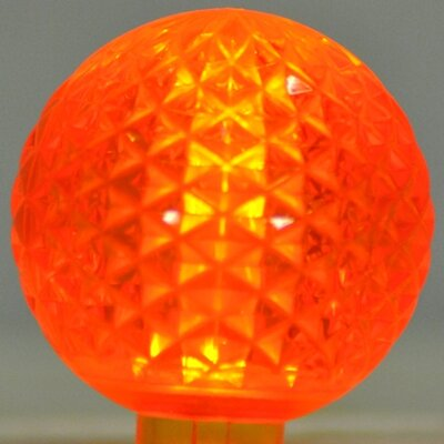 1.7W LED Light Bulb (Pack of 10) Bulb Color: Orange