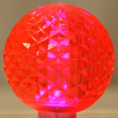 1.7W LED Light Bulb (Pack of 10) (Set of 10) Bulb Color: Pink