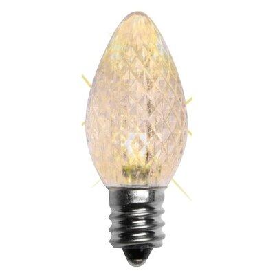 1W LED Light Bulb (Pack of 25) Bulb Color: Warm White