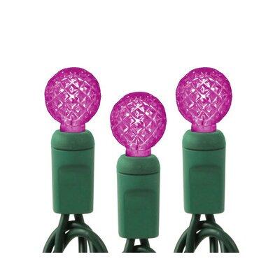 50 Light String Light Bulb Color: Pink