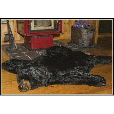 Black Bear Area Rug