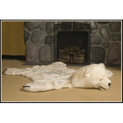 White Bear Area Rug