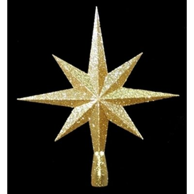 8 Point Star Tree Topper Color: Red