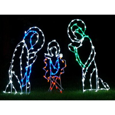 Nativity Scene LED Light Christmas Decoration