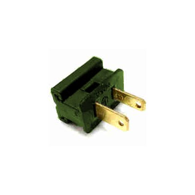 Electrical Plug (Set of 50) Color: Green