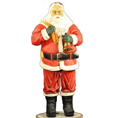 Santa Claus Carrying His Toy Bag Figurine