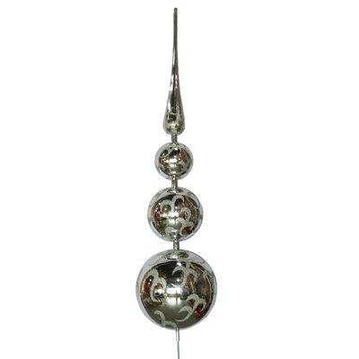 Tree Topper Ornament Color: Silver
