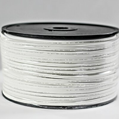 SPT-1 Zipcord Wire Color: White