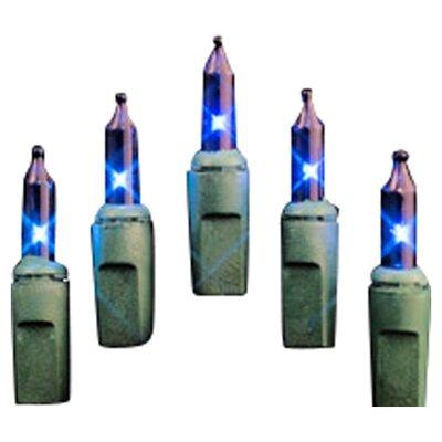 100 Mini String Light Bulb Color: Blue