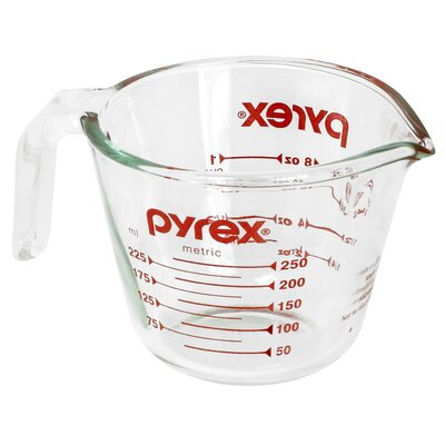 1 Cup Clear Measuring Cup (Set of 6) 6001074