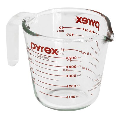 2 Cup Clear Measuring Cup 6001075