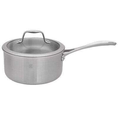 Spirit 3-ply Stainless Steel Ceramic Saucepan Size: 3-qt. 64085-200