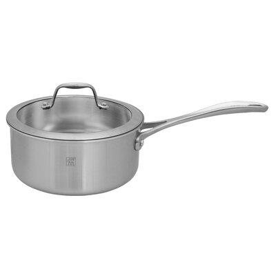 Spirit 3-ply Stainless Steel Ceramic Saucepan Size: 2-qt. 64085-180