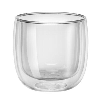 Sorrento Double-Wall Glass Tea Cup Set 39500-087