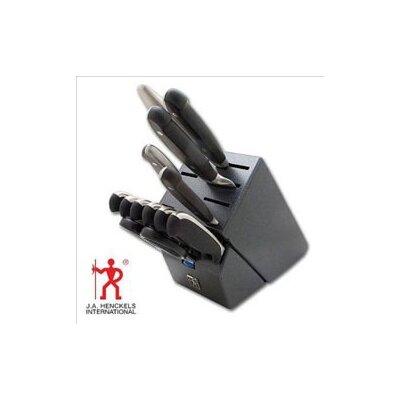 synergy 13 piece block set black home best knife block set