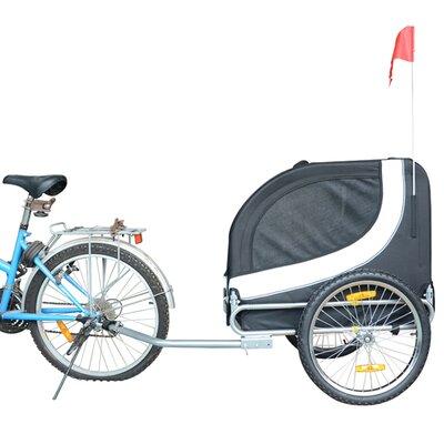 MDOG2 Comfy Pet Bike Trailer - Color: White/Black at Sears.com