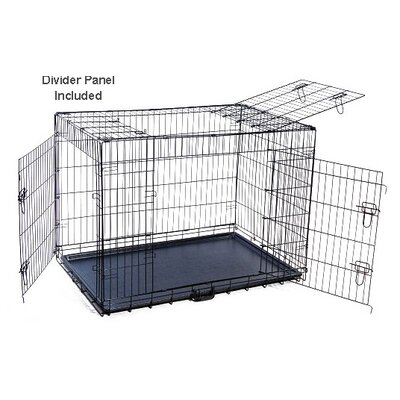 Pet Crate Size: 33 H x 29 W x 42 L