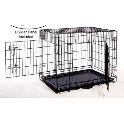 Pet Crate Size: 24 H x 21 W x 30 L