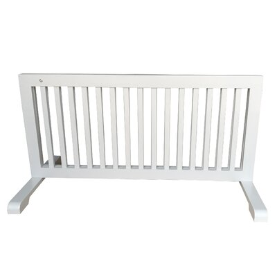 Free Standing Step Over Gate Finish: Gray