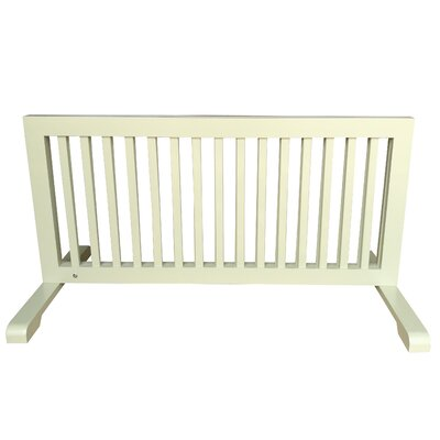 Free Standing Step Over Gate Finish: Light Green